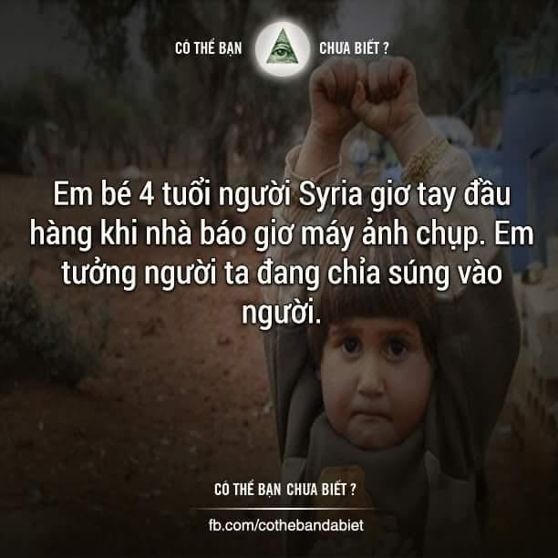 Chiến tranh là trò chơi của người lớn nhưng trẻ em lại bị ảnh hưởng nặng nề...