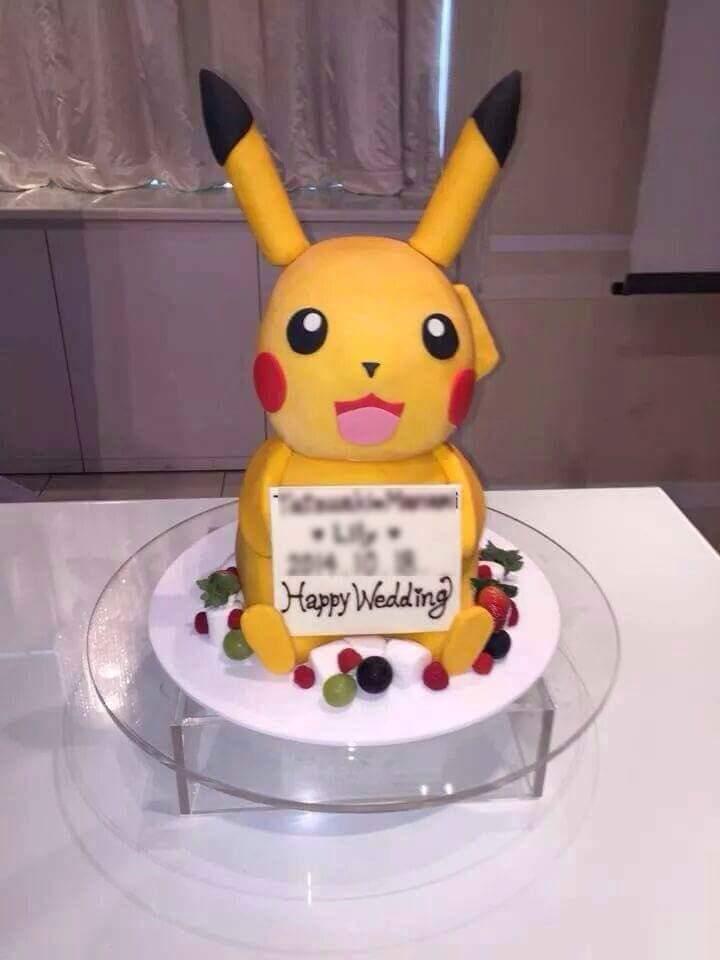 Nghe nói bánh sinh nhật hình pikachu đẹp lắm. :v