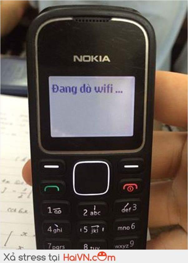 Trường mới lắp wifi căng đét