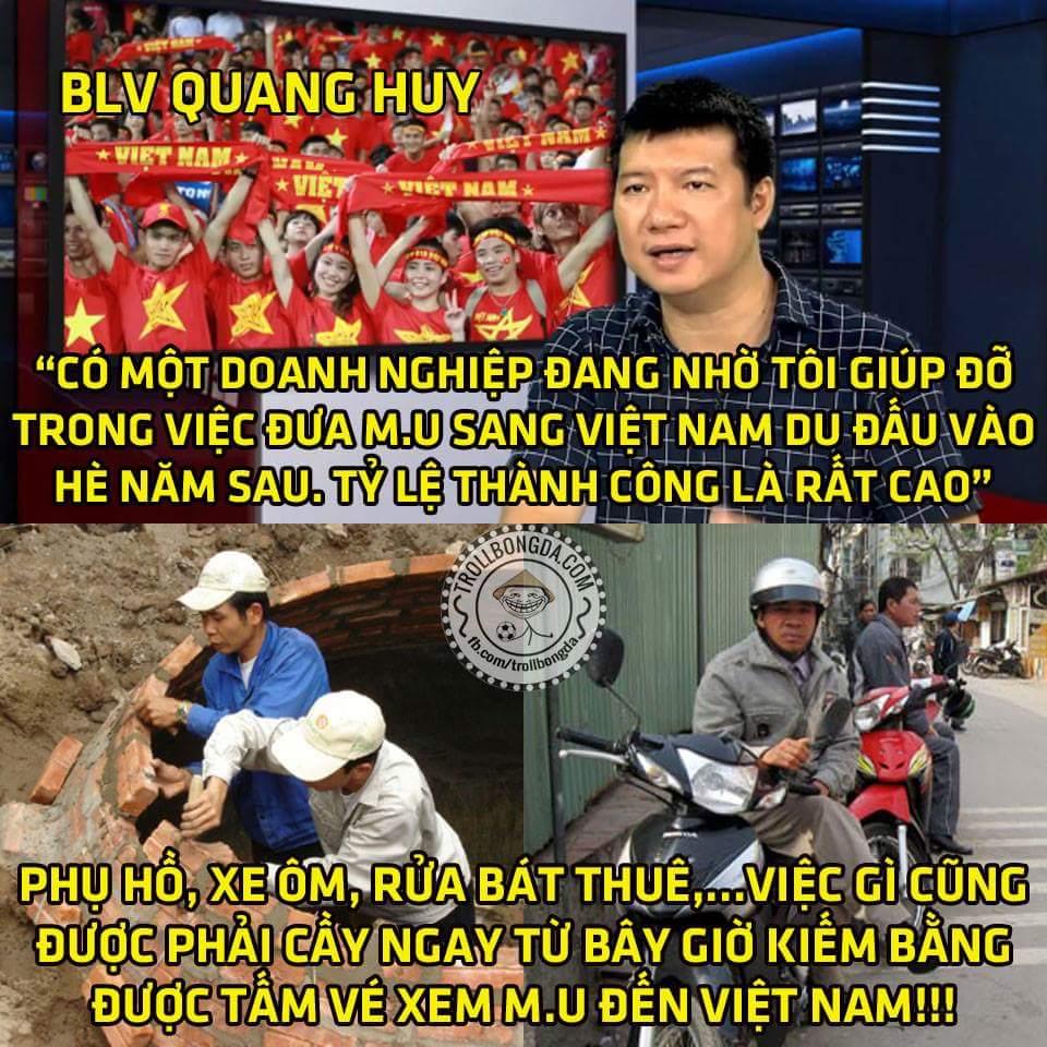 Nghe nói hè năm sau M.U CÓ THỂ qua Việt Nam anh em ạ :v
