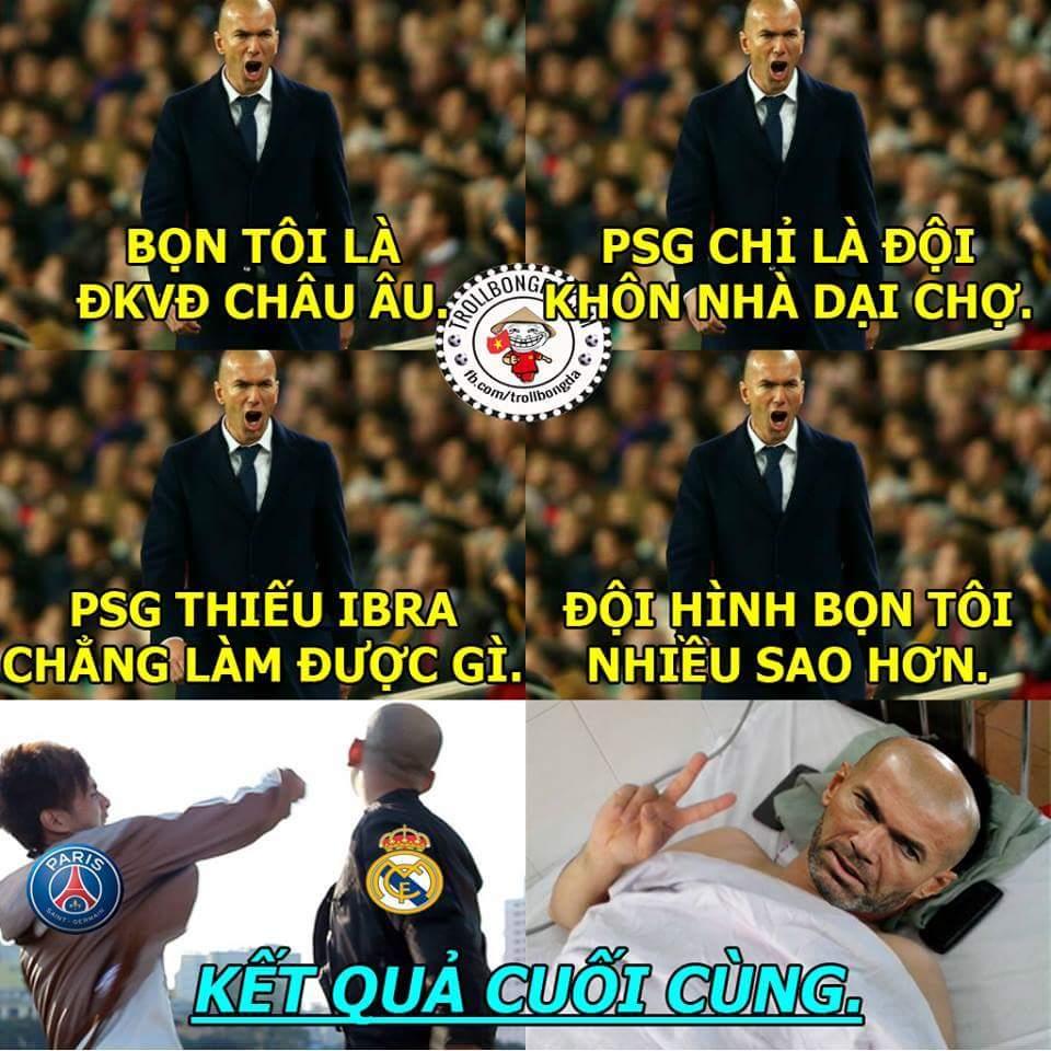 Tác hại của việc đùa với PSG :)))))  .Hoài