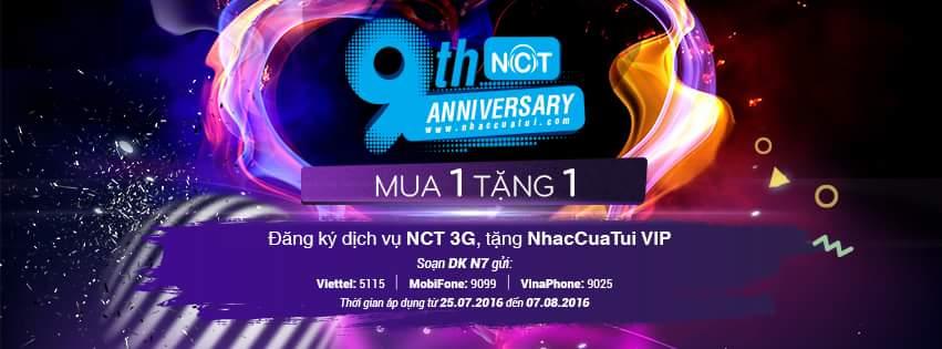 Tin vui cho tất cả người dùng NhacCuaTui :   TẶNG ngay NhacCuaTui VIP khi đăng ký dịch vụ NCT...