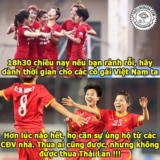 18h30 hôm nay 30/7: Việt Nam - Thái Lan Đừng bỏ lỡ các bạn nhé !!!