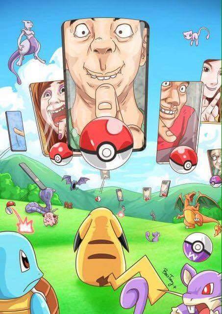 Ở thế giới pokemon. :3