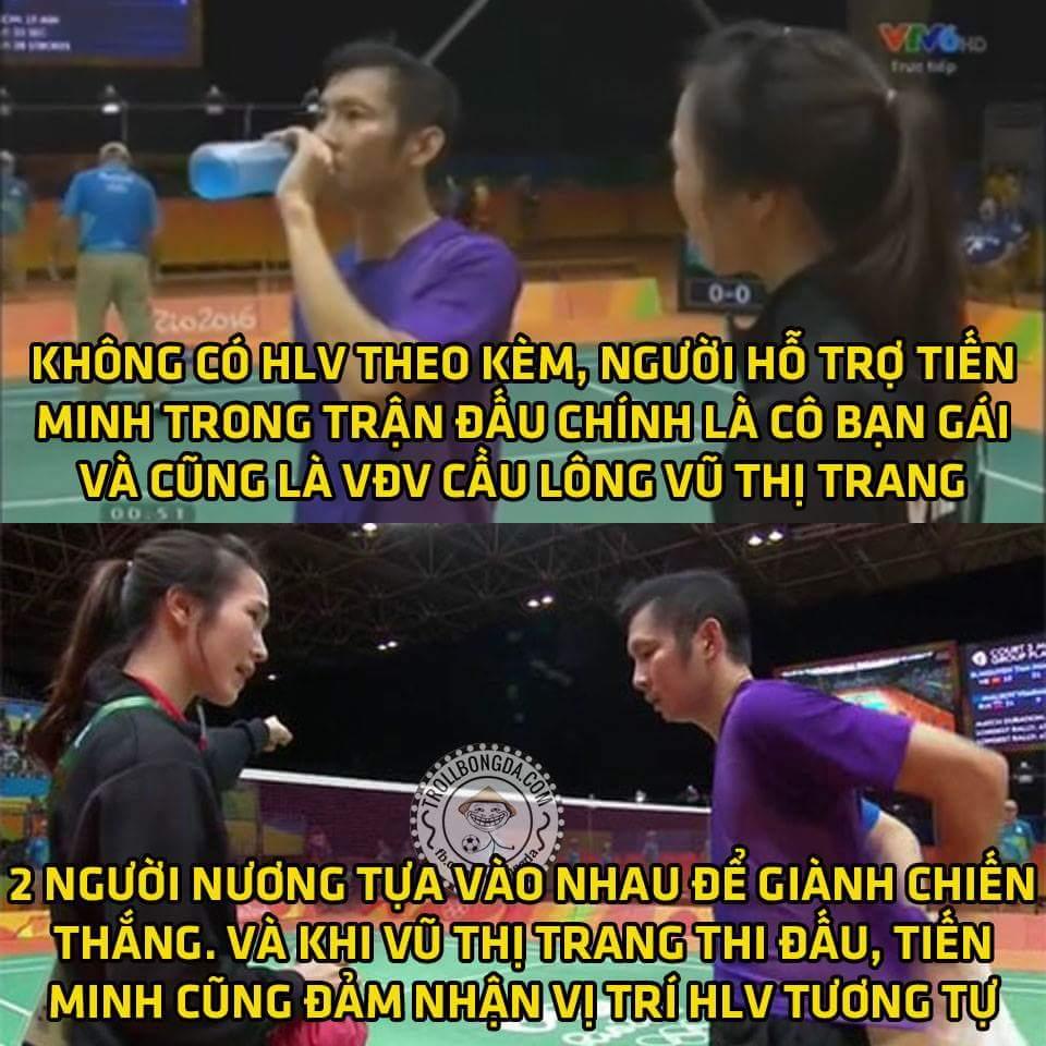 Có thể các VĐV Việt Nam không vô địch tại Olympic lần này nhưng sự bá đạo của họ khi đơn...