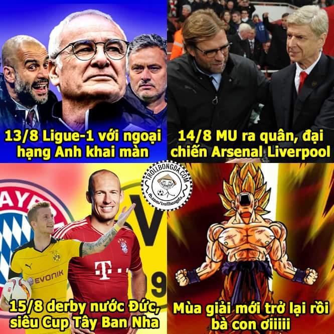 Đêm nay bóng đá châu Âu trở lại rồiiiiiiiiiiiiiiiiiiiiiiiiiiii Quẩy mạnh lên nào ae...