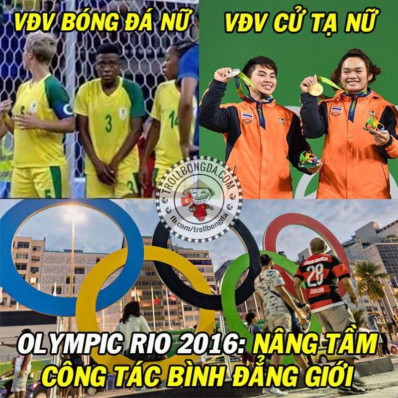 Không chỉ là thể thao. :v  #Olympic