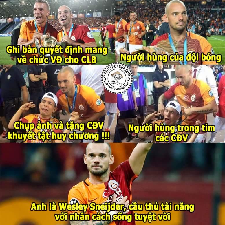 #Respect Wesley Sneijder
