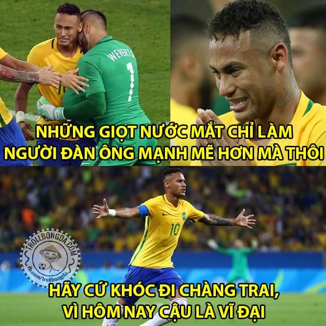 Hôm nay anh là ngôi sao sáng nhất #Neymar à