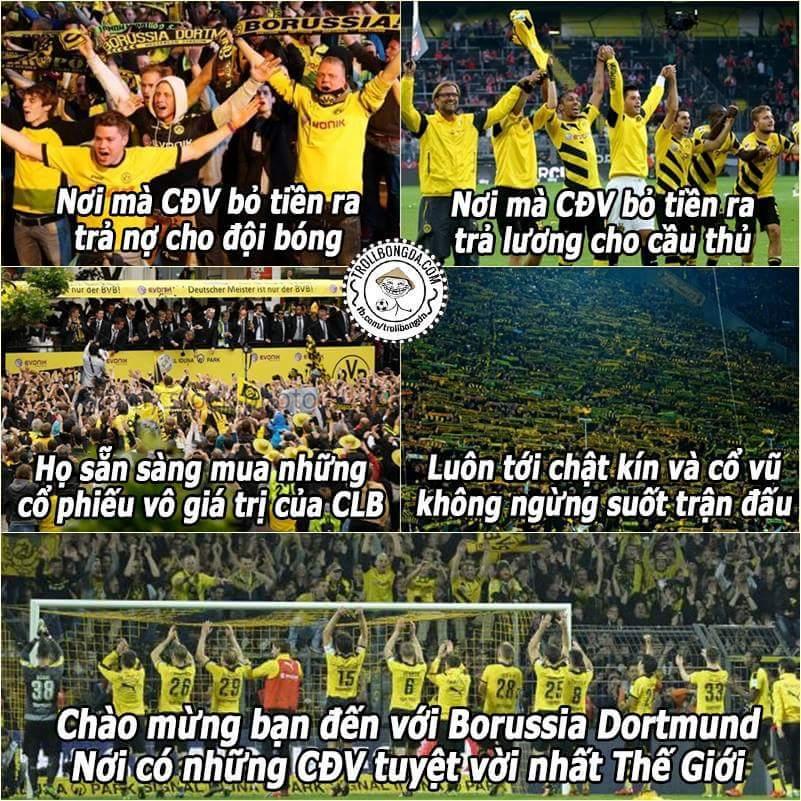 Chỉ có thể là Dortmund mà thôi