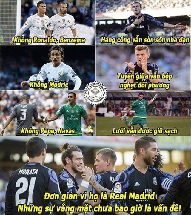 Zidane Madrid không còn quá phụ thuộc vào Ronaldo nữa rồi