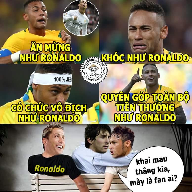 Neymar nghe quý Rô hơn là Si nhỉ