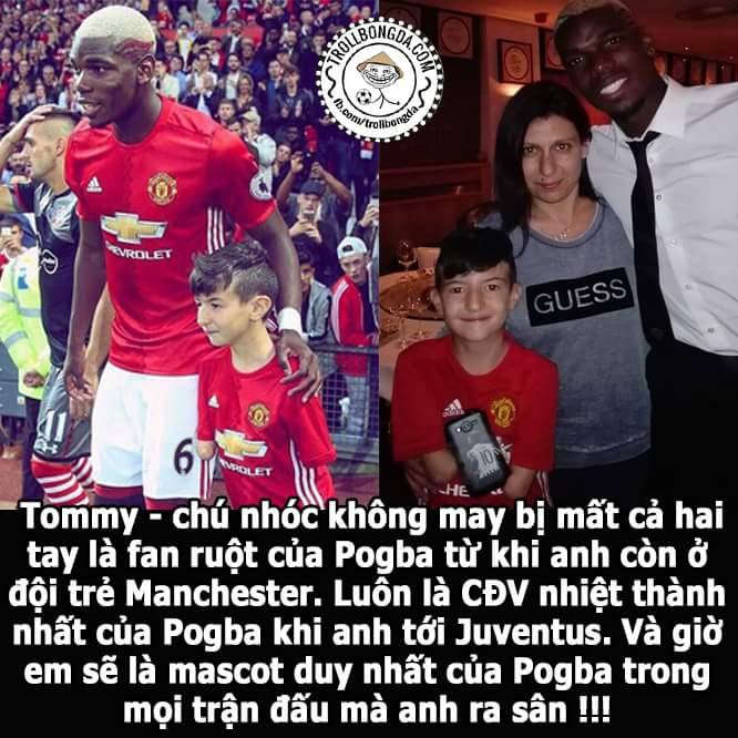 Cậu nhỏ bạn thân của Pogba :) Được anh Ba chu cấp ăn học tới khi trưởng thành...