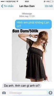 Thế là em Lan Ban Dam đã mất đi một khách hàng tiềm năng rồi :(