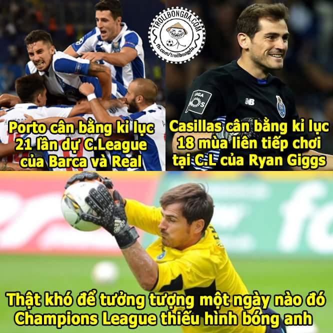Liên tiếp các kỉ lục được phá vỡ, tuyệt vời Porto và Casillas