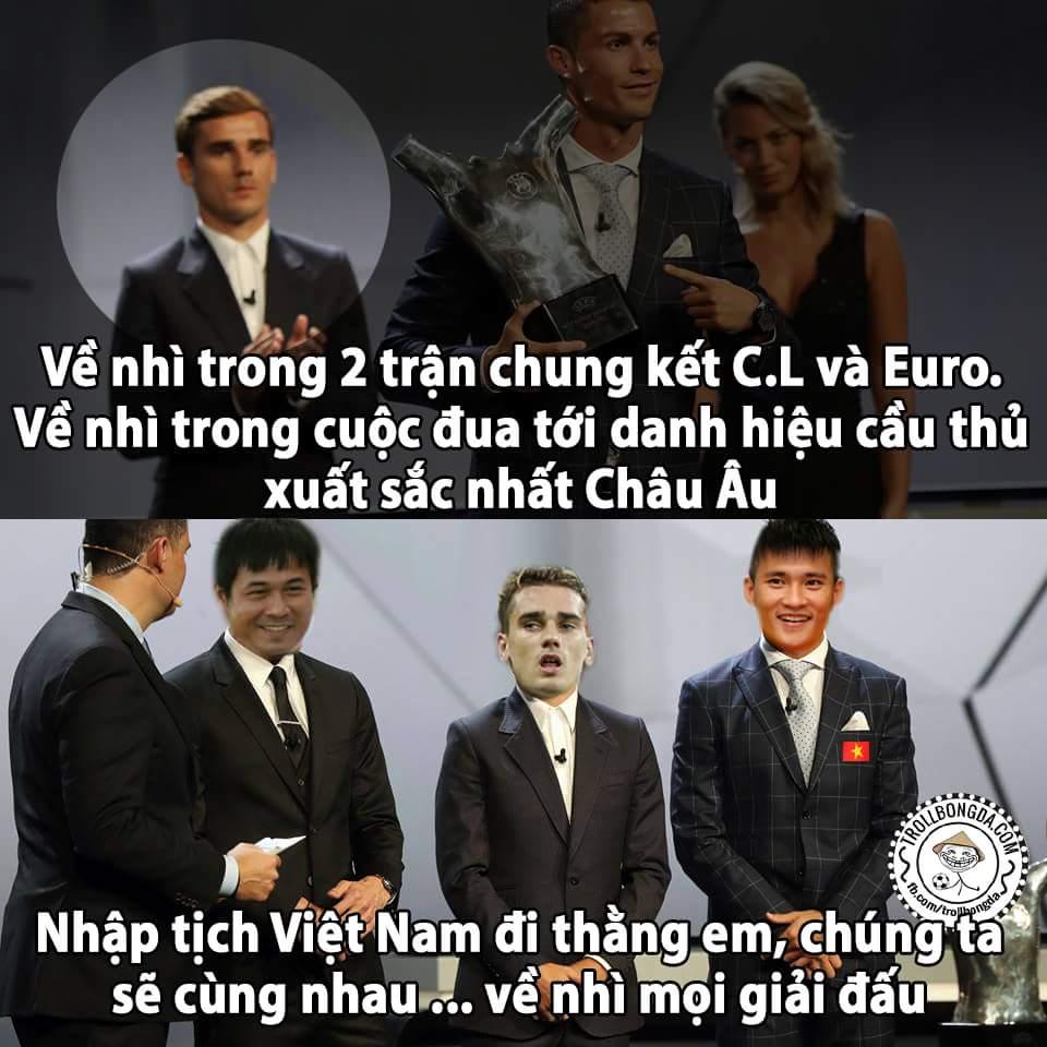 Về Việt Nam đi anh, huy chương Bạc có mà cả rổ