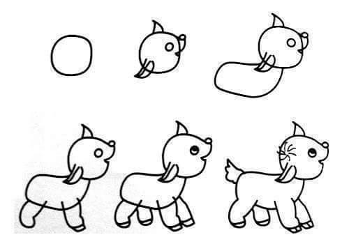 Mẹo vẽ những con vật đơn giản