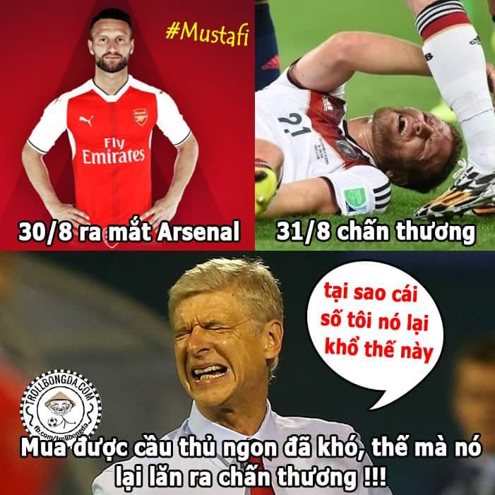 Bom tấn Mustafi của Arsenal chính thức thay thế Jack Wilshere để trở thành đội trưởng FC Bệnh...