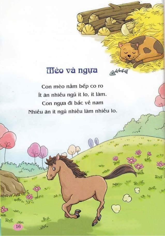 Tổng hợp những bài thơ dễ thương quen thuộc với tuổi thơ
