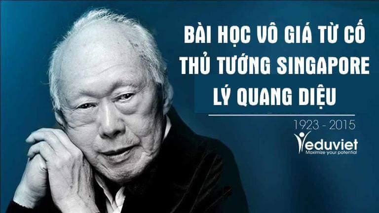 """Ai cũng nên đọc bài học vô giá từ cuộc đời """"Người khổng lồ châu Á"""" - cố Thủ tướng Lý Quang..."""