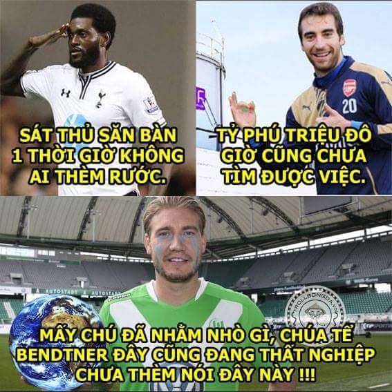 Cảm động LORD Bendtner đang tìm xem đội bóng nào yếu nhất để đầu quân giúp đội phát triển :3...