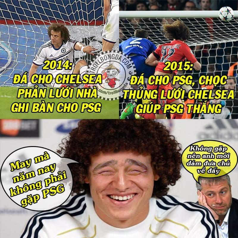 Thần tài của PSG hay hung thần của Chelsea đây ? :v