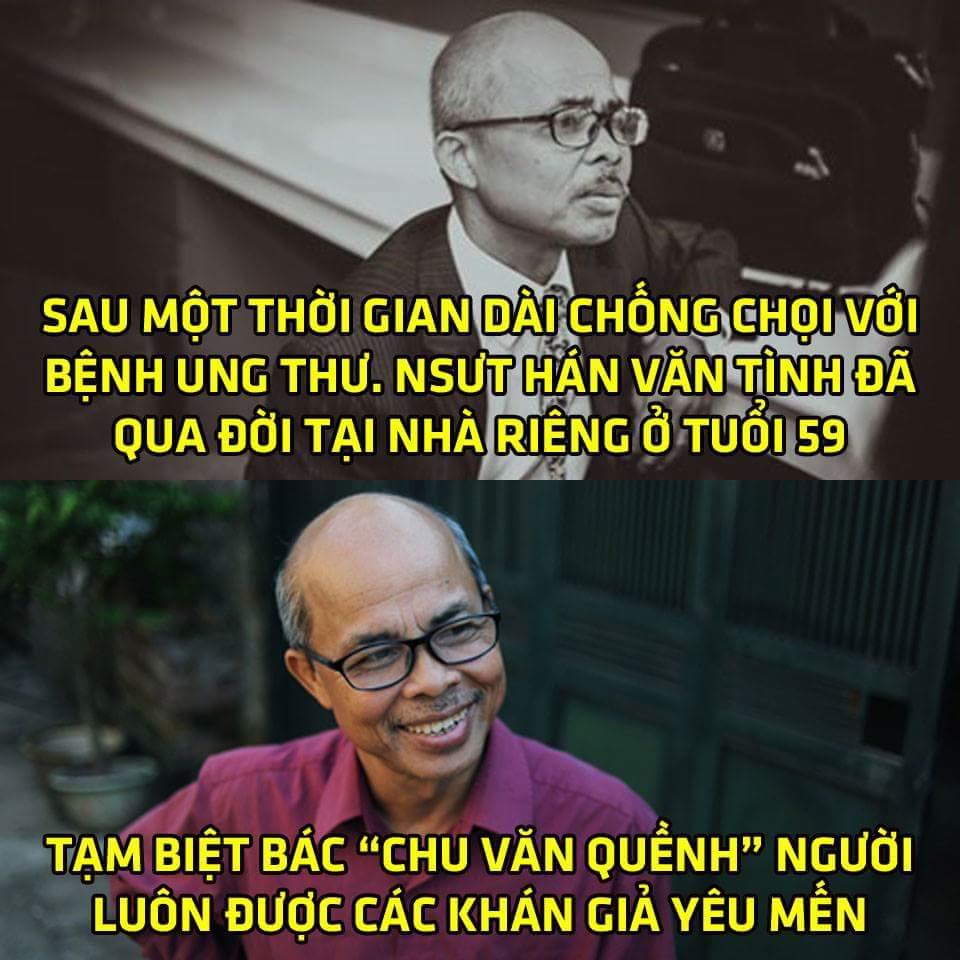 Vậy là bác Chu Văn Quềnh đã ra đi rồi :( xin gửi lời chia buồn tới người thân và gia đình của...