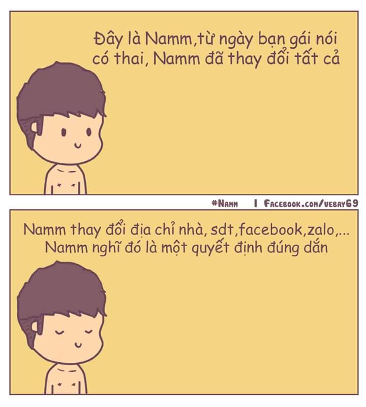 Hãy như Nam. :v