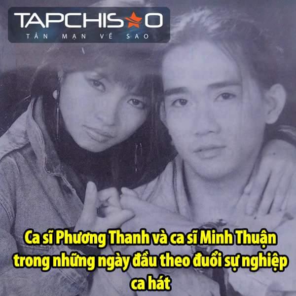 Minh Thuận và Phương Thanh như người nhà vậy. <3  Tạp Chí