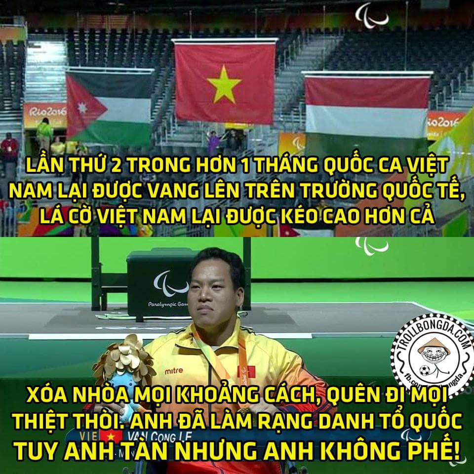 Sau xạ thủ Hoàng Xuân Vinh giờ chúng ta có lực sĩ Lê Văn Công, những con người tuyệt vời đã...