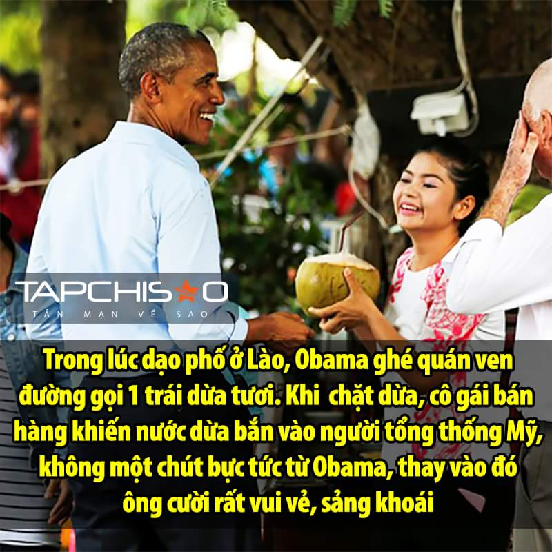 Đúng chất Obama.