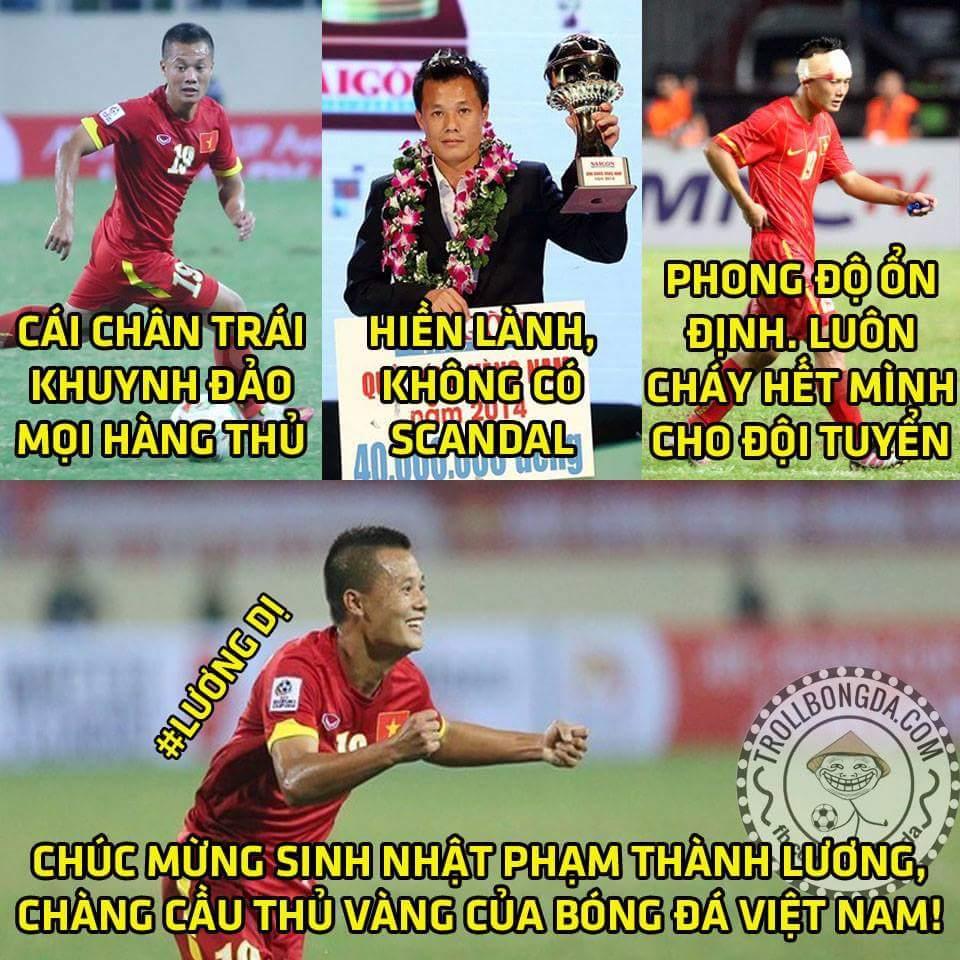 Cùng với Công Vinh, Lương Dị có lẽ là cầu thủ chơi ổn định và được nhiều NHM yêu mến nhất....