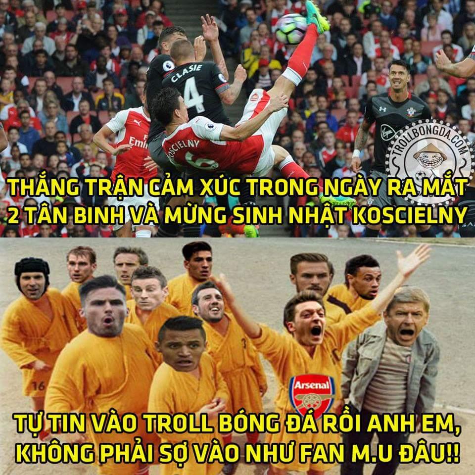 HẾT GIỜ: Chúc mừng Arsenal và Real tiếp tục có 3 điểm :v Arsenal 2-1 Southampton Real Madrid...
