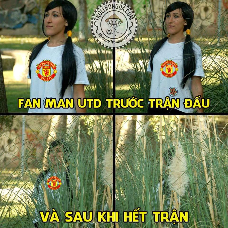 FT: M.C 2-1 M.U. Manchester is blue :))))) Hãy cho tôi thấy bộ mặt của các bạn fan M.U đi ạ...