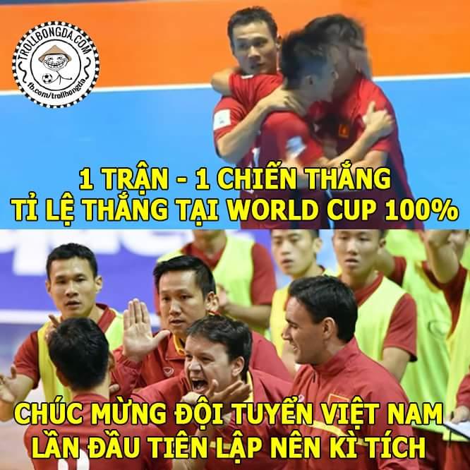 Chiến thắng lịch sử 4-2 của Việt Nam, sáng nhất anh Minh Trí với 1 cú hat-trick...