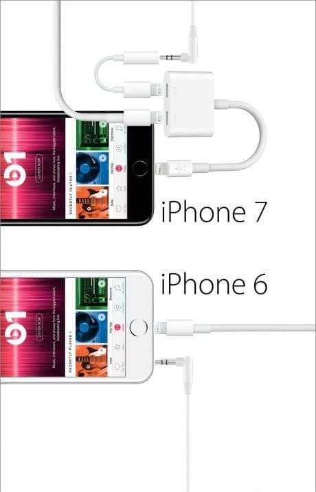 Sự khác bọt giữa iphone 6 và iphone 7 :3