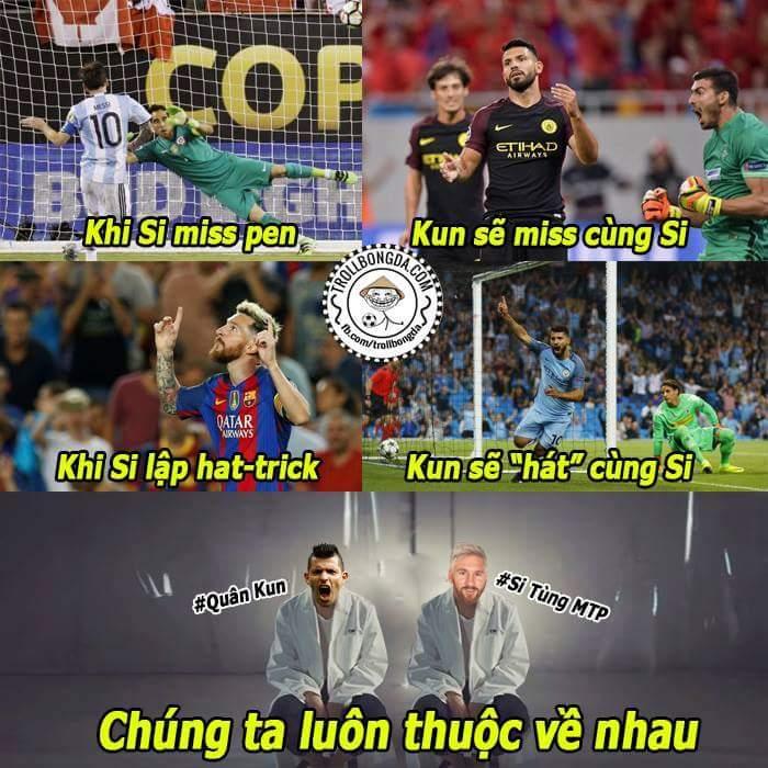 Đôi bạn sống chết có nhau :3 #Messi