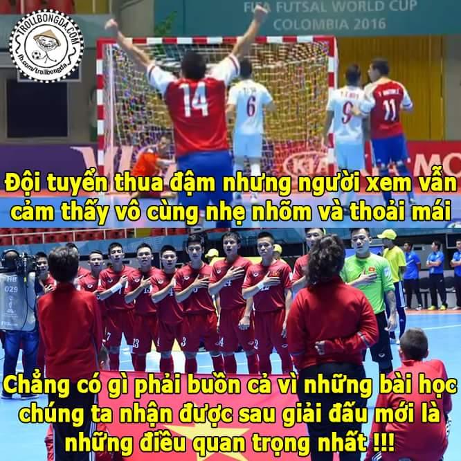 Hết giờ: Việt Nam 1 - 7 Paraquay Cầu thủ ghi bàn cho VN là Văn Vũ <3  Không sao cả tất cả mới...