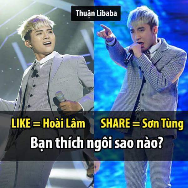 Bạn thích ai nào?   Thuận