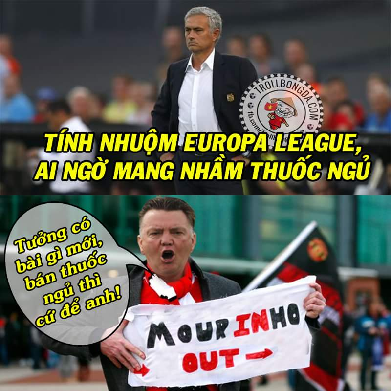 FT: Feyenoord 1-0 Man United. Chúc mừng M.U mua được đặc sản hành Hà Lan.