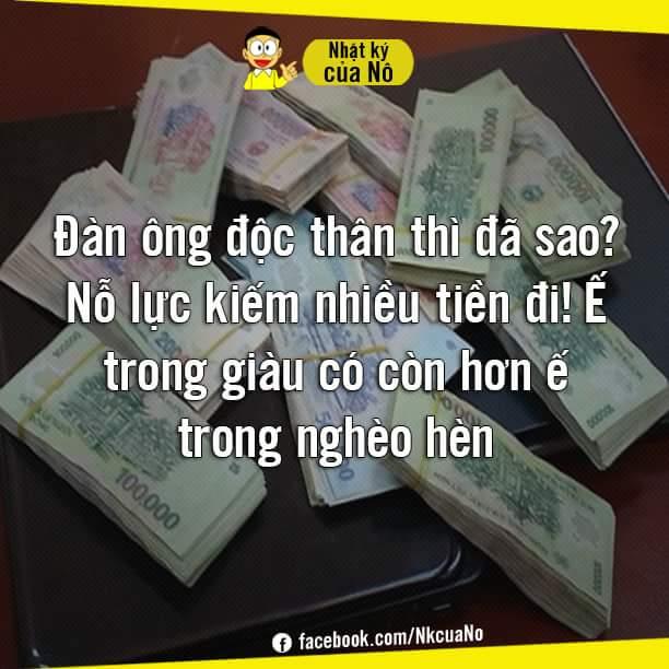 Ế giàu còn hơn ế nghèo nhé.