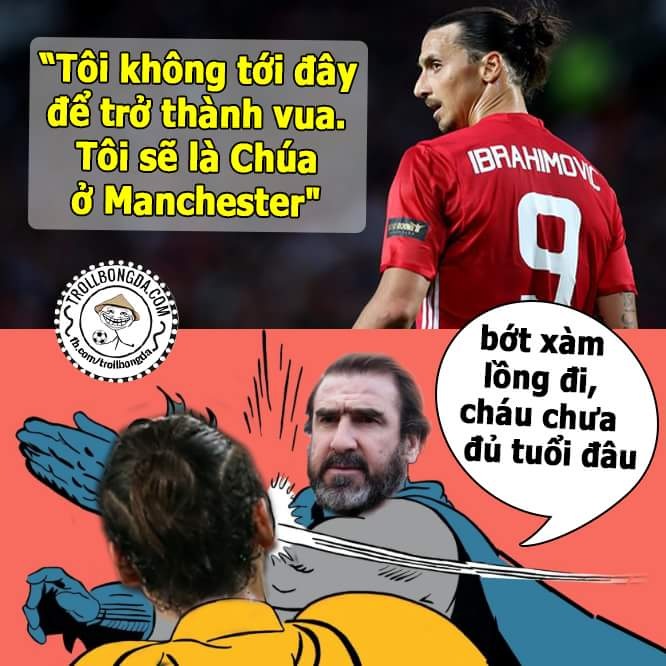 Vua của Manchester chỉ có thể là Cantona mà thôi