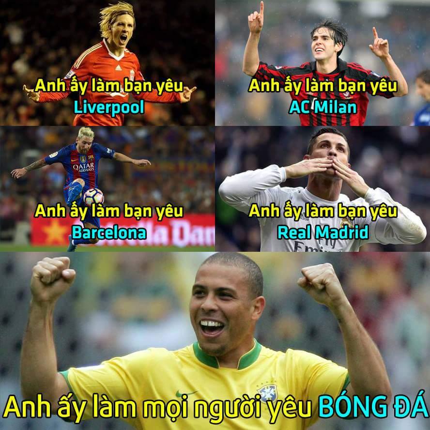 Ai là người đưa bạn đến với bóng đá? ;)  - Cám ơn bạn Bui Hoai Mai đã gửi ảnh về page nhé...
