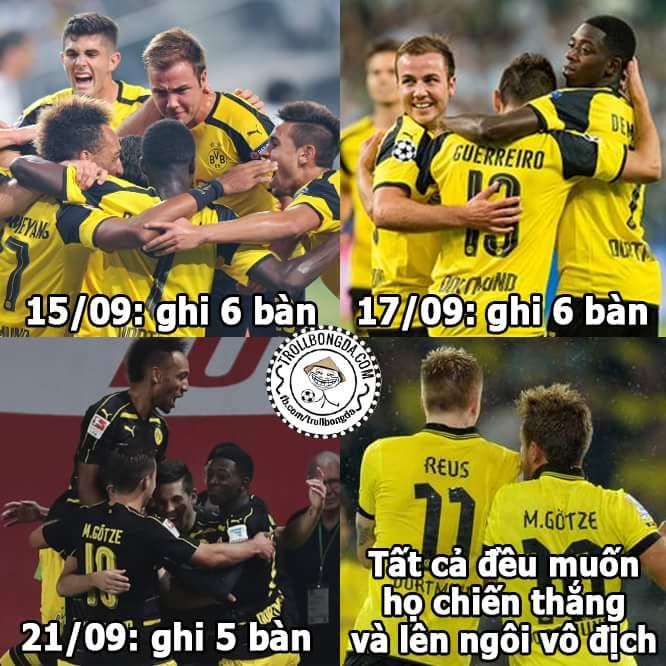Gotze trở về khiến hàng công #Dortmund mạnh lên gấp bội !!! Hi vọng Bundesliga sẽ có một mùa...