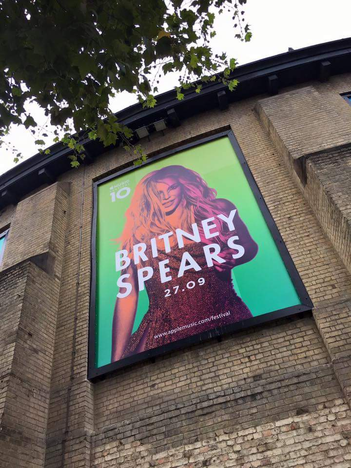 #AppleMusicFestival with Britney Spears in a few