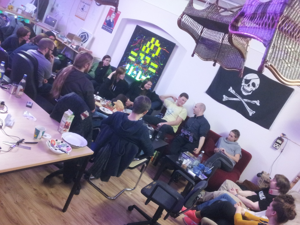 Treffen im Hackspace Siegen