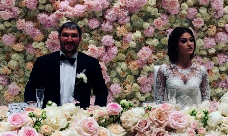 Свадьба овечкина и глаголевой