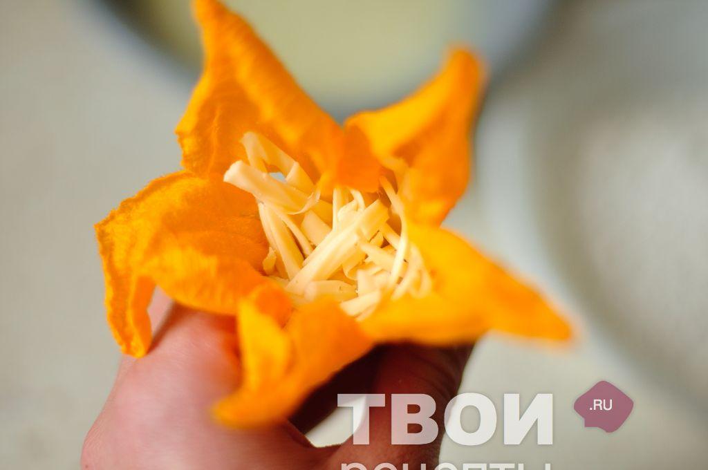 Рецепты цветы кабачков
