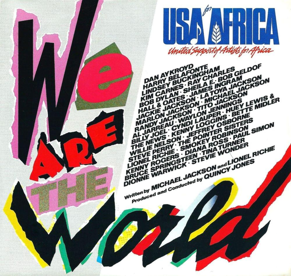 We r the world michael jackson lyrics