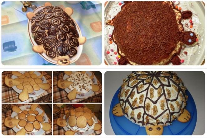 Торт черепаха картинки